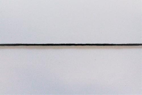 ELASTIC STRIPS IN BLACK COLOR - PACKAGE 500 MT
