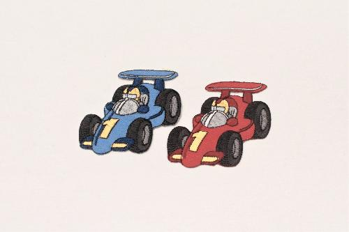 FASHION APPLICATION FORMULA ONE HEIGHT 6.5 CM - PACKAGE 2 PCS